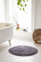 Urban Outfitters Crochet Trim Bath Mat