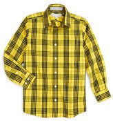 Nordstrom Boy's Smartcare(TM) Plaid Dress Shirt