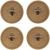 Joanna Buchanan Set of 4 Coasters - Stripy Bee