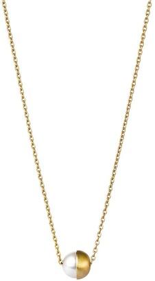 Shihara Half Pearl Necklace 90