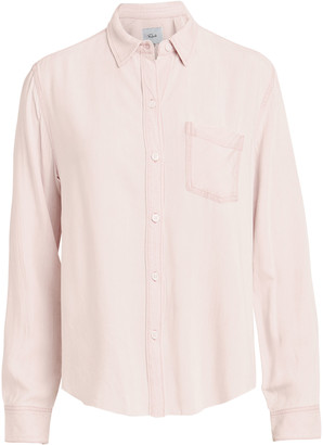 Rails Ingrid Raw Hem Button-Down Shirt