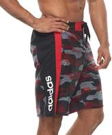 adidas Men's Sur Shot Camo 4-Way Stretch E-Board Shorts