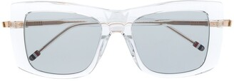 Thom Browne TB419 square frame sunglasses
