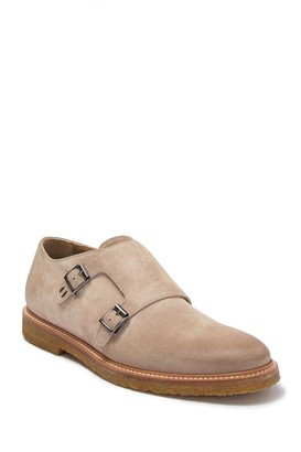 Ross & Snow Gabrielle Suede Monk-Strap Dress Shoe