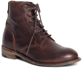 Brooks Brothers Vintage Shoe Company Short Leather Lace-Up Boots