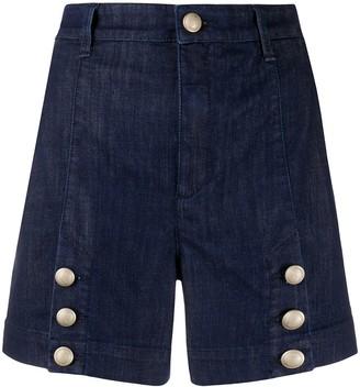 Jacob Cohen High Rise Denim Shorts