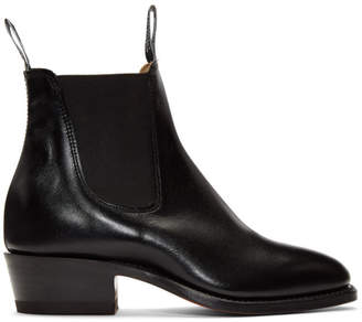 R.M. Williams Black Yearling Boots