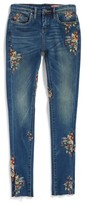 Blank NYC Girl's Blanknyc Embroidered Skinny Jeans