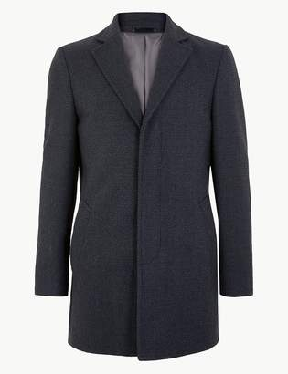 Marks and Spencer Tweed Overcoat