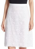 Burberry Drin Lace Skirt