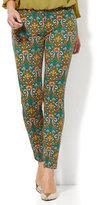 New York & Co. The Audrey Pant - Slim Leg - Medallion Print