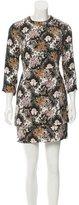 A.L.C. Silk Abstract Print Dress w/ Tags