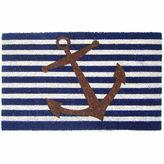 Asstd National Brand Nautical Anchor Rectangular Doormat