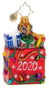 Christopher Radko 2020 Goodie Bag Gem