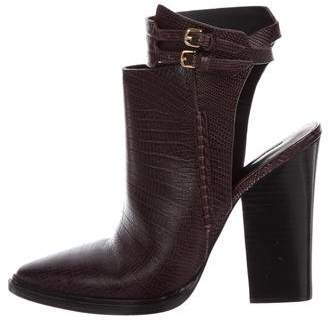 Alexander Wang Embossed Ankle Boots