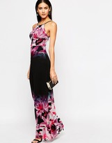 Lipsy Printed Floral Maxi Dress