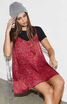 KENDALL + KYLIE Kendall & Kylie Lace-Up Back Slip Dress