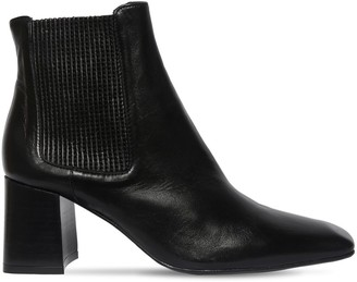 Miista 65mm Beta Leather Ankle Boots