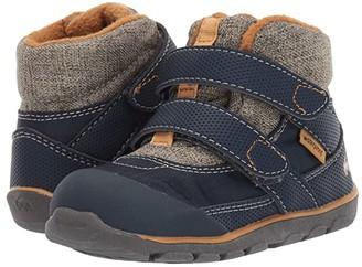 See Kai Run Kids Atlas II WP/IN (Toddler/Little Kid/Big Kid) (Navy/Khaki) Boy's Shoes