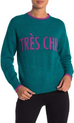 CODEXMODE Verbiage Crew Neck Sweater