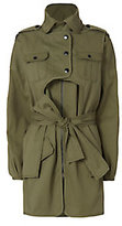 Marissa Webb Nicholas Army Coat