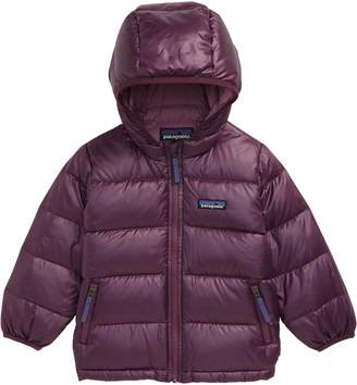Patagonia Hi-Loft Water Repellent 600 Fill Power Down Recycled Sweater Hoodie
