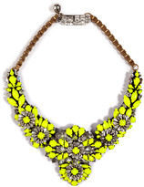 Shourouk Apolonia Necklace in Yellow