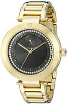 Vestal Women's RSE3M002 The Rose Analog Display Quartz Gold Watch