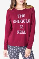 PJ Salvage Long Sleeve Snuggle Sweater