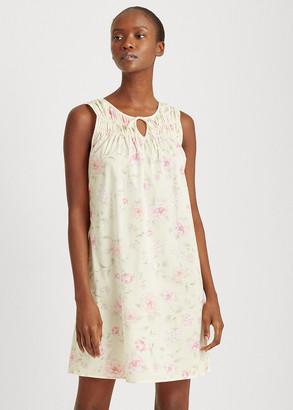 Ralph Lauren Floral Cotton-Blend Nightgown