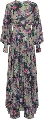 Rotate Floral-Print Maxi Dress