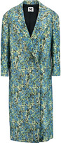 M Missoni Printed wool-blend coat