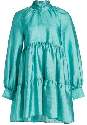 Stine Goya Jasmine Tiered Ruffle Babydoll Dress