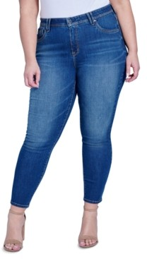 Seven7 Jeans Trendy Plus Size High-Rise Ab-Solute Skinny Jeans
