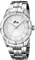 Lotus Women's Quartz Watch with Silver Dial Analogue Display and Silver Stainless Steel Bracelet 15987/1