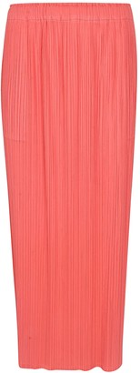 Pleats Please Issey Miyake Pleated Long Skirt