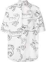 Marni printed short-sleeved shirt