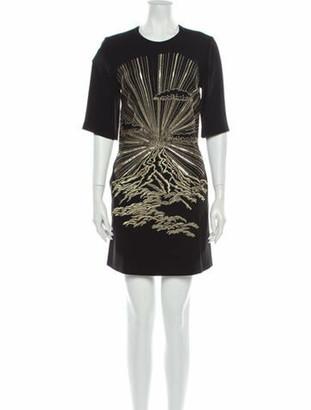 Stella McCartney Printed Mini Dress w/ Tags Black