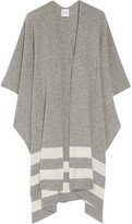 Madeleine Thompson Towton Striped Cashmere Wrap - Gray