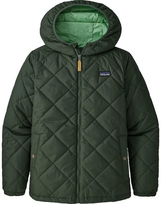 Patagonia Diamond Quilt Hooded Insulated Jacket - Boys'