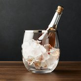 Crate & Barrel Pryce Champagne/Ice Bucket