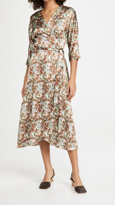 NO.6 STORE Georgia Wrap Dress