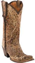 Women's Lucchese Bootmaker M5040. S52F Snip Toe Fashion Heel Boot