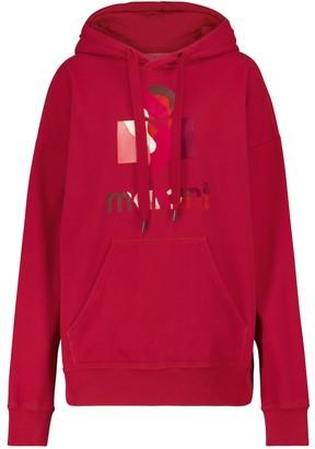 Etoile Isabel Marant Mansel cotton-blend jersey hoodie