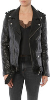 BLK DNM Oversized Motorcycle Jacket