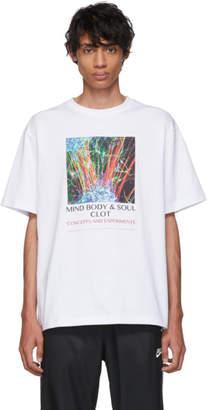 Clot White Mind Body and Soul T-Shirt