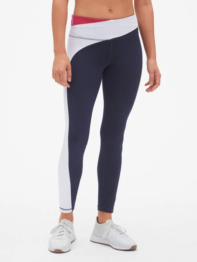 a360bfa646860d Gap Blue Leggings - ShopStyle