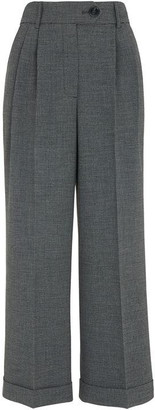 Whistles Turn Up Crop Trouser