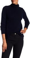A.L.C. Pippa Surplice Back Wool & Cashmere Turtleneck Sweater