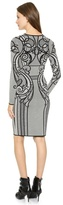 Temperley London Lavinia Lace Fitted Dress